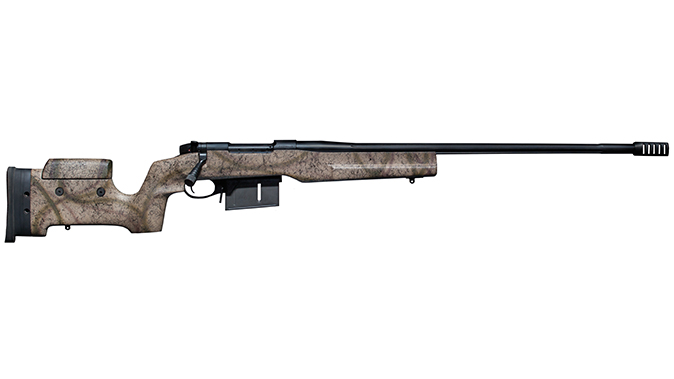 Weatherby Mark V Tacmark Elite big-bore rifles