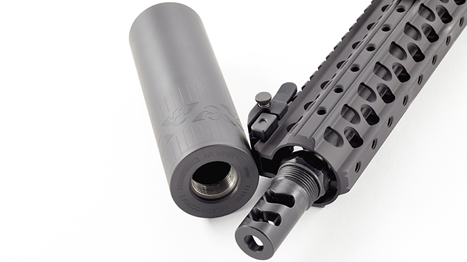 Wilson Combat AR9B carbine flash suppressor