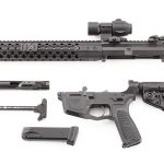 Wilson Combat AR9B carbine disassembled