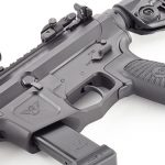 Wilson Combat AR9B carbine receiver angle