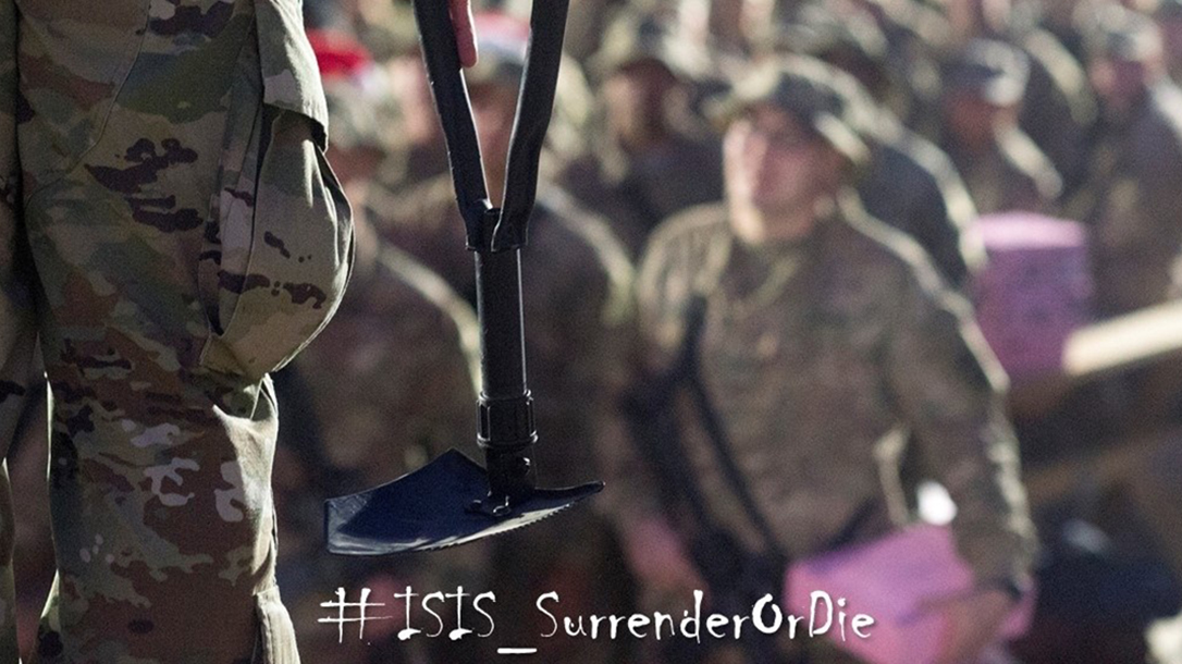 military advisor isis Entrenching Tools
