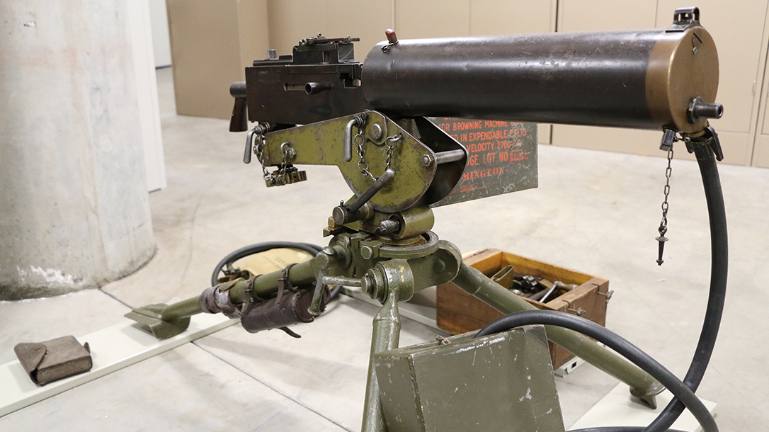 World War I Small Arms Browning MG 1917 machine gun