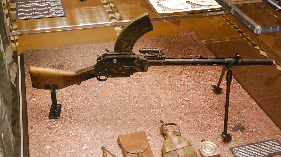 World War I Small Arms Madsen light machine gun