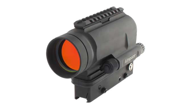 Aimpoint CompM5 MPS3 sight left angle