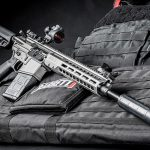 Barrett REC10 rifle right angle
