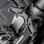 Barrett REC10 rifle charging handle angle