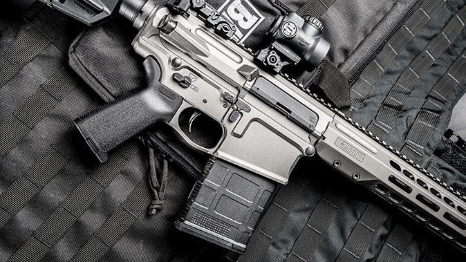 Barrett REC10 rifle controls