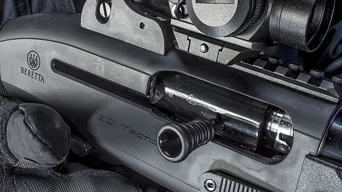 Beretta 1301 Tactical shotgun charging handle