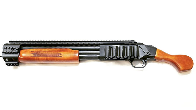 black aces tactical mossberg shockwave wood furniture left profile