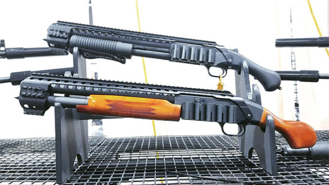 black aces tactical mossberg shockwave wood furniture comparison profile shot