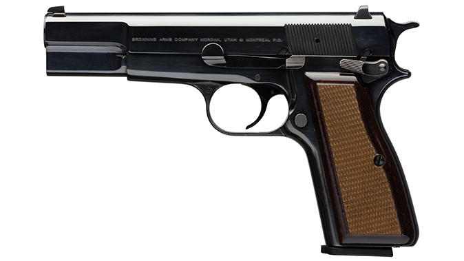 Browning Hi-Power pistol standard