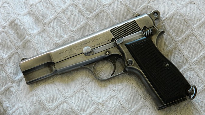Browning Hi Power 1970s model