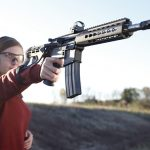 Bushmaster XM-15 SquareDrop Pistol angle