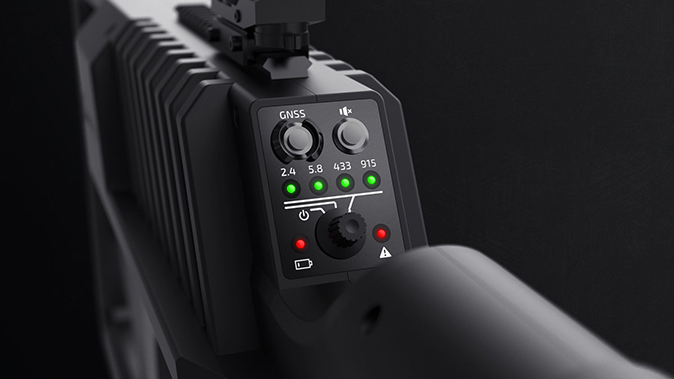 DroneGun Tactical jamming signals