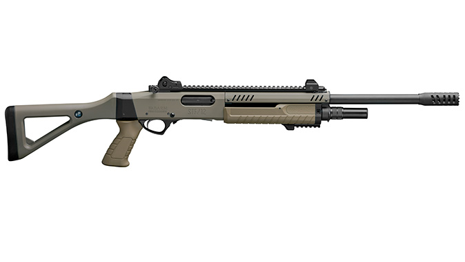 fabarm STF 12 Shotgun fde right profile