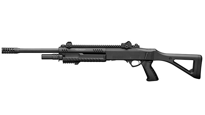 fabarm STF 12 Shotgun black left profile