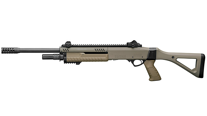 fabarm STF 12 Shotgun fde left profile