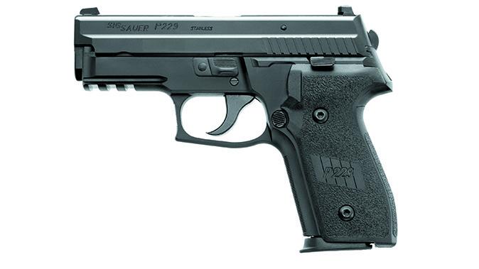 Sig Sauer P229R DAK pistol left profile