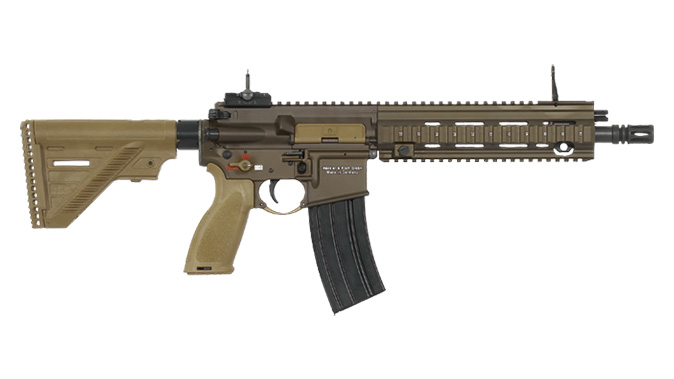 heckler koch HK416 A5 rifle 11 inch barrel right profile