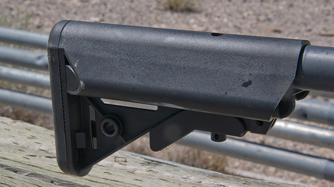 LMT MARS-L rifle stock