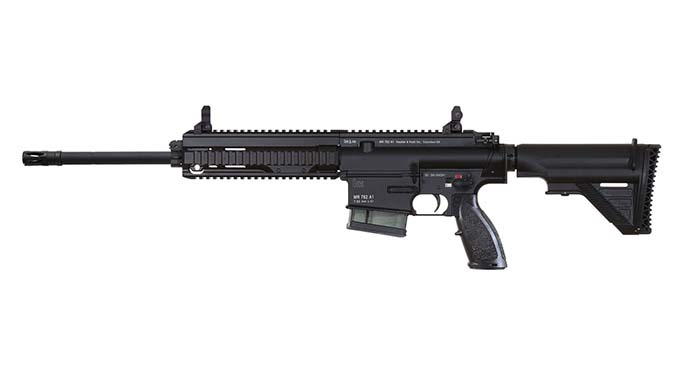 HK MR762A1 rifle new handguard