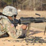 army next generation squad weapon m249 saw firing
