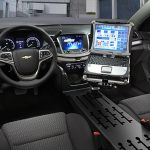 police cruisers chevy tahoe ppt interior