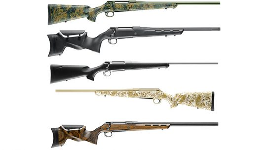 new sauer 100 bolt-action rifles 2018