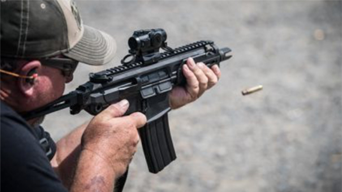 Sig MCX Rattler rifle shooting