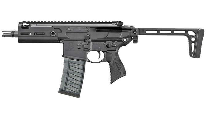 Sig MCX Rattler rifle left profile