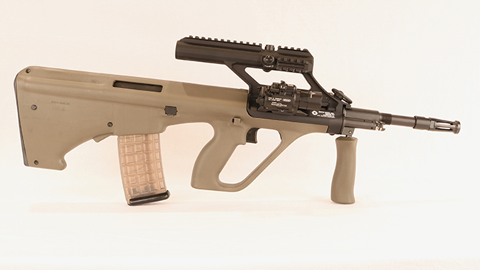 Steyr AUG A3 M1 rifle right profile