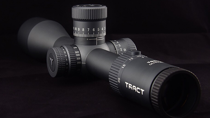 tract toric riflescope right angle