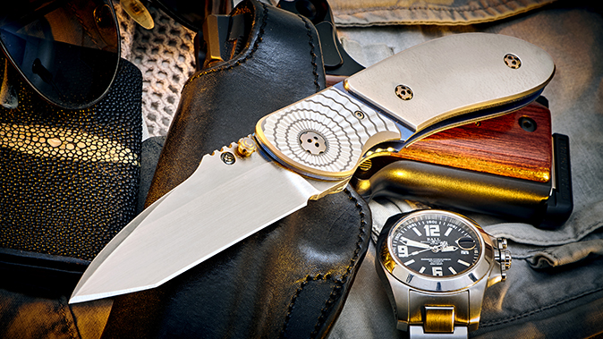 True North Elishewitz Stryker Redux tactical folding knives
