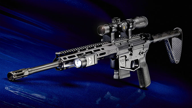 wilson combat ranger ultralight rifle left angle