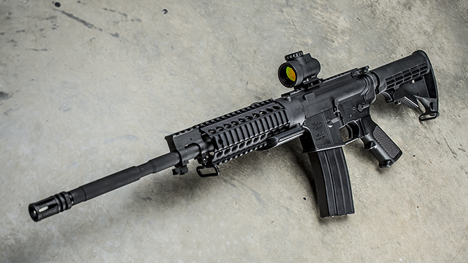 windham weaponry RMCS-4 review rifle left angle