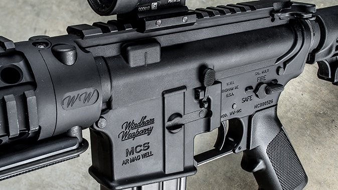 windham weaponry RMCS-4 review rifle controls