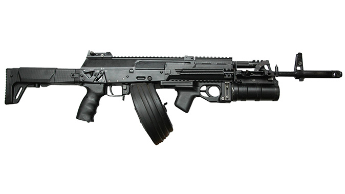 ak-12 rifle right profile