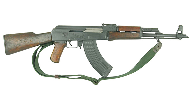 ak rifle 1953 right profile