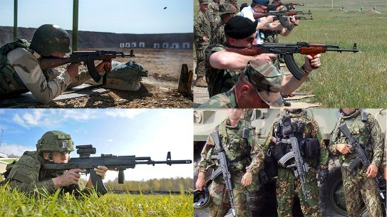 ak rifle platform history
