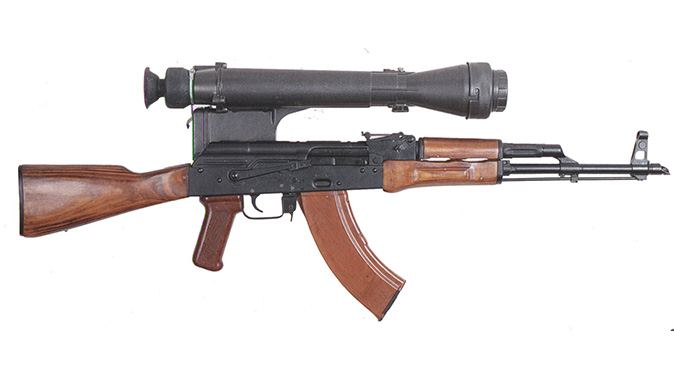ak m rifle optic