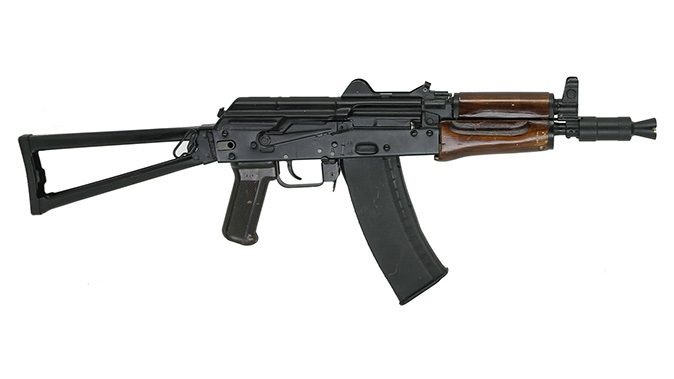ak rifle short-barreled aks-74u