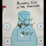 buckshot mossberg 500 target
