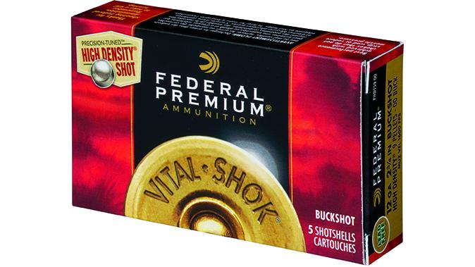 buckshot federal premium ammo