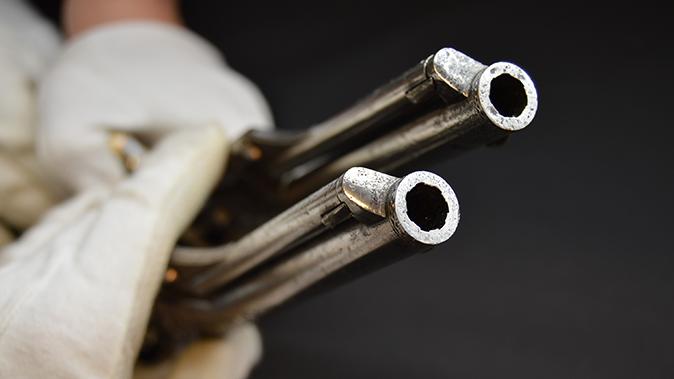 colonel custer colt model 1861 revolvers barrel rifling