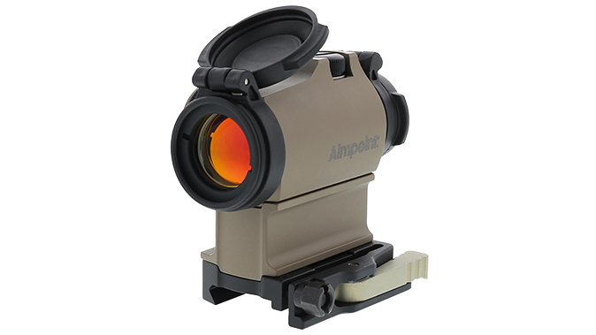 Aimpoint micro t-2 FDE left angle open