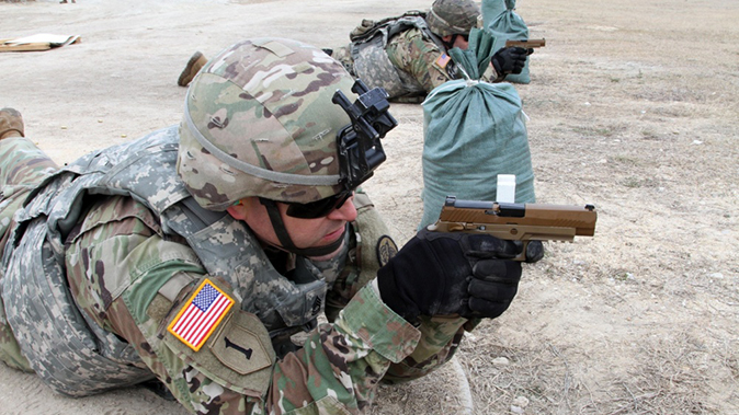 army modular handgun system prone position firing