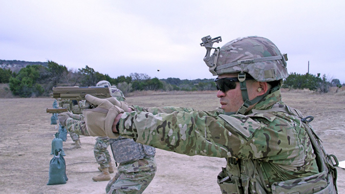 army modular handgun system shooting