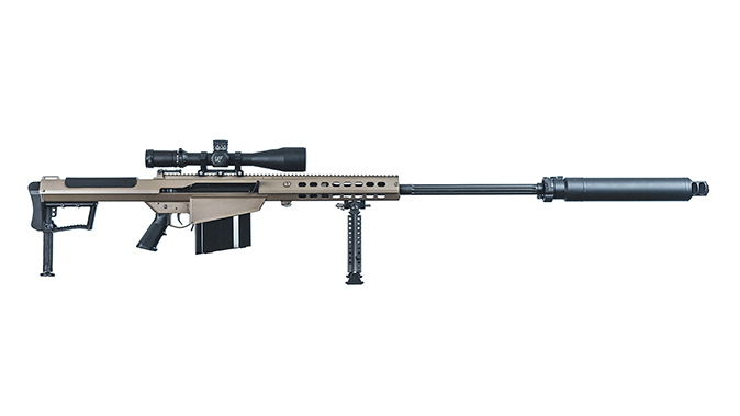 Barrett M107A1 rifle portuguese special operations