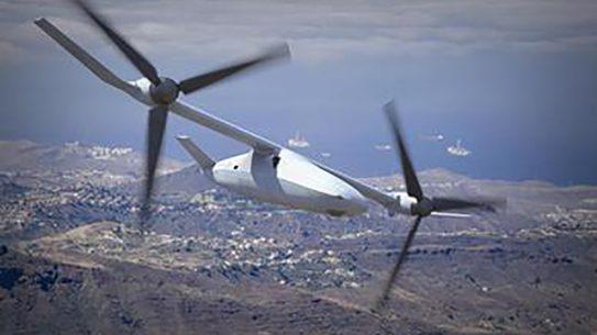Bell V-247 Vigilant mux drone