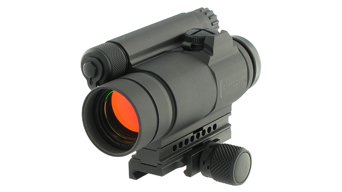 berlin police Aimpoint compm4 sight left angle